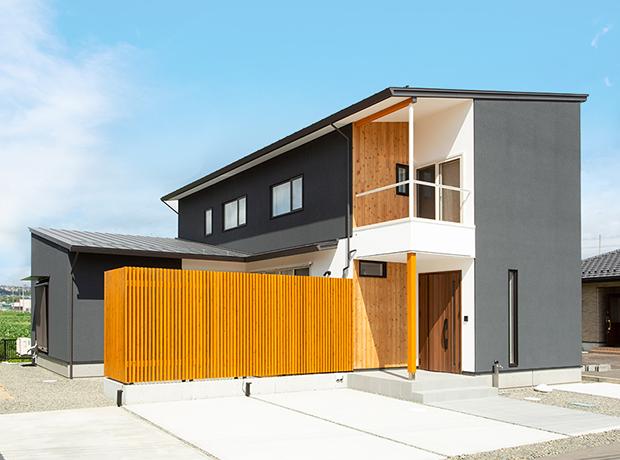 仙台市太白区の庭風の家