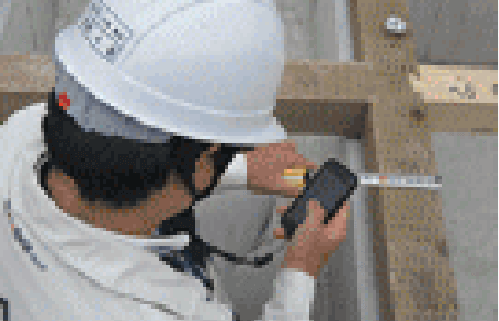 土台据付施工後床下地材施工前監査