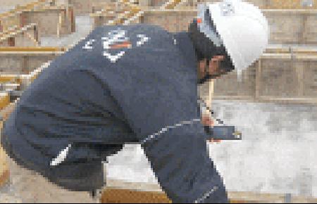 基礎立ち上り型枠施工後コンクリート打設前監査